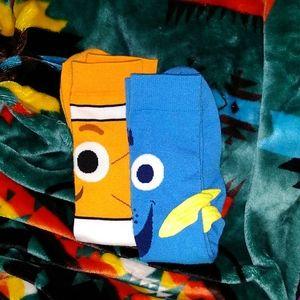 Dory and Nemo socks